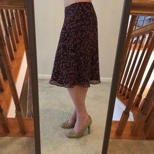 Size 6 Liz and Co skirt.
